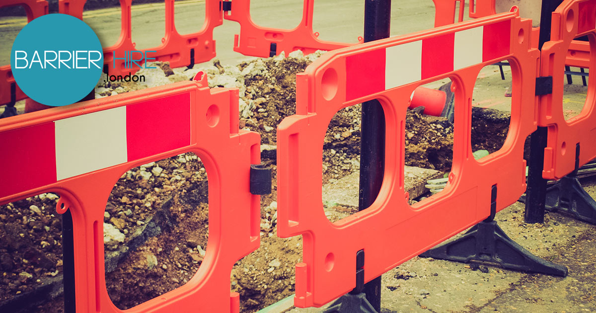 barrier hire london rent tensa and crowd control barriers