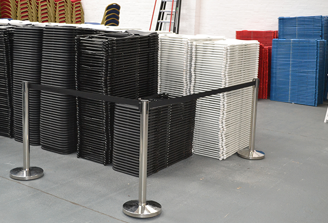 Barrier Hire London | Rent Tensa and Crowd Control Barriers
